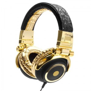 iDance Disco 100 Headphones Gold / Black Headphones
