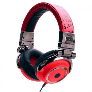 iDance Disco 400 Headphones Bronze / Red Headphones